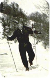 Vittorio durante un allenamento